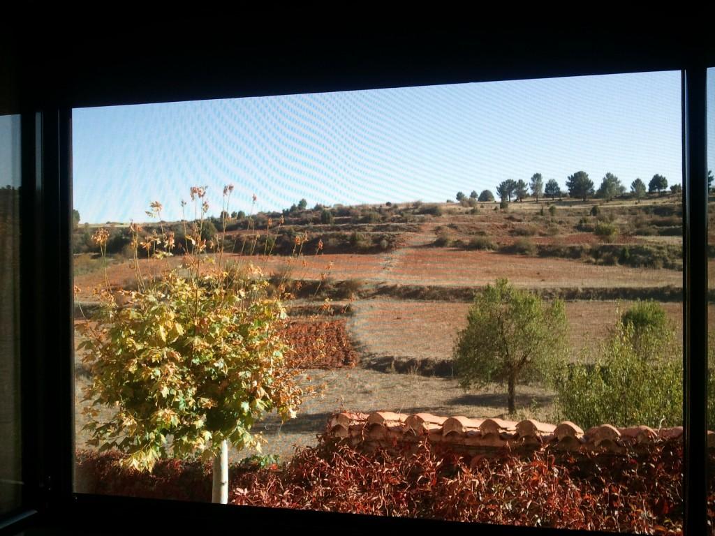 Mi ventana en Rubiales