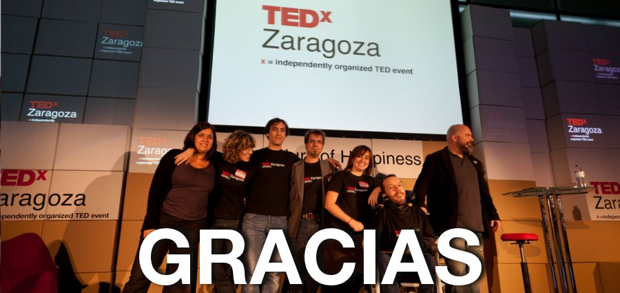 Fin del TEDxZaragoza